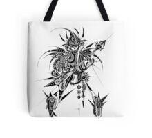 [ Geometry Flow ] Guardian of Rocker Tote Bag