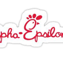 AEPI Chick Fil A Sticker