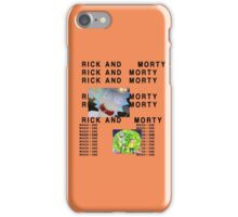 Rick and Morty The Life of Pablo (Less Graphic) iPhone Case/Skin