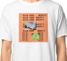 Rick and Morty The Life of Pablo (Less Graphic) Classic T-Shirt