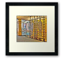 City of Fitchburg Library Framed Print