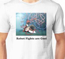 Robot Fights Unisex T-Shirt