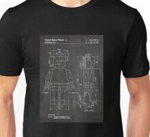 LEGO Minifigure US Patent Art Mini Figure blackboard Unisex T-Shirt