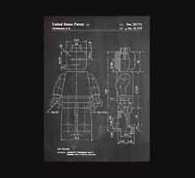 LEGO Minifigure US Patent Art Mini Figure blackboard Unisex T-Shirt