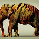 Tiger Elephant by Vin  Zzep