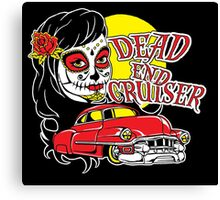 Dead End Cruiser Canvas Print