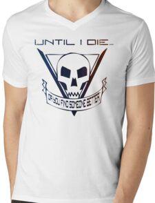 Until I Die... (Starship Troopers Tribute) Mens V-Neck T-Shirt