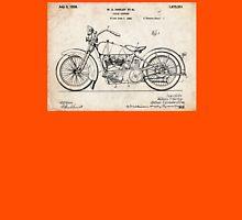Harley Davidson Motorcycle US Patent Art 1928 Unisex T-Shirt