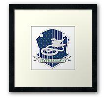 Slytherclaw Framed Print