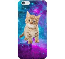 Galaxy print CUTE KITTEN hipster #3 iPhone Case/Skin