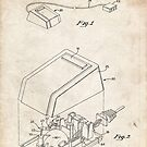 First Computer Mouse US Patent Art Apple Steve Jobs 1984 by Steve Chambers