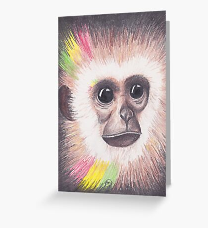 Island Monkey Greeting Card