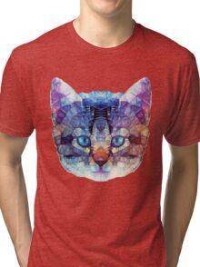 abstract kitten Tri-blend T-Shirt