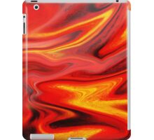Hot Wave Abstract Painting  iPad Case/Skin