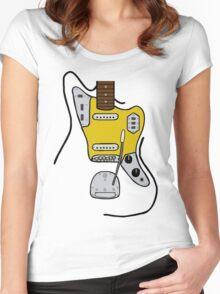 Fender Jaguar Women's Fitted Scoop T-Shirt
