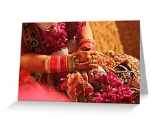 Indian Wedding Greeting Card