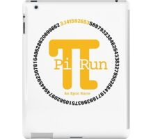 Pi Run iPad Case/Skin