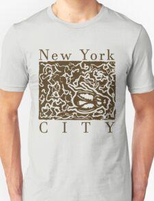 new york city- dead cockroach Unisex T-Shirt