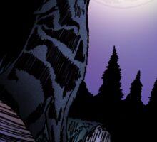 Howling Wolf (Signature Design) Sticker