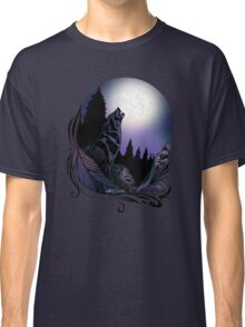 Howling Wolf (Signature Design) Classic T-Shirt
