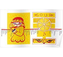 Sour Grrls: Sour Lemon Poster
