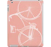 Blush Pink Vintage Bike iPad Case/Skin
