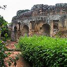 17th Century Convent ruin, Guatemala, 2009 by Heather Friedman