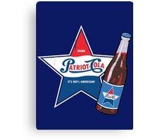 Patriot Cola Canvas Print