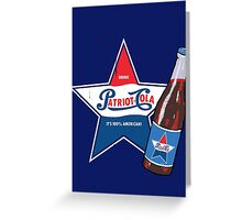 Patriot Cola Greeting Card