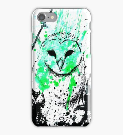 Watcher Green iPhone Case/Skin