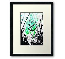 Watcher Green Framed Print