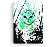 Watcher Green Canvas Print