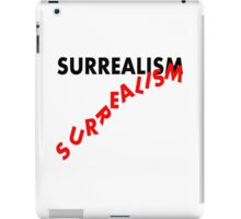 SURREALISM - Falling Text iPad Case/Skin