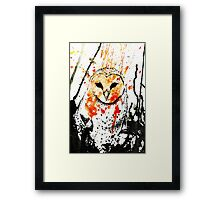 Watcher Original Framed Print