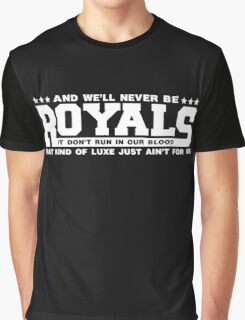 Typography : Royals Graphic T-Shirt