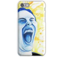 Distorted Portrait of Happiness iPhone Case/Skin