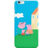 Peppa Pig and Family iPhone Case/Skin