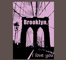 brooklyn, i love you Womens Fitted T-Shirt