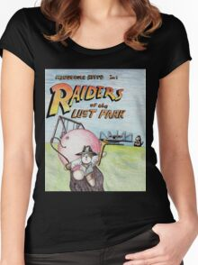 Raiders of the Lost Park Women's Fitted Scoop T-Shirt