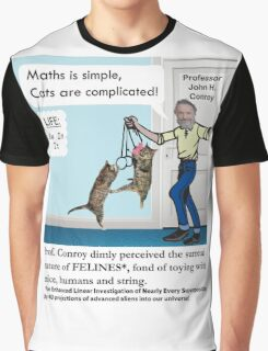 Cats Are Complicated Graphic T-Shirt