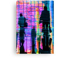 Commuter Abstract Canvas Print