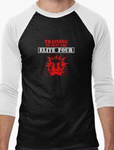 Cyndaquil Training Men's Baseball ¾ T-Shirt