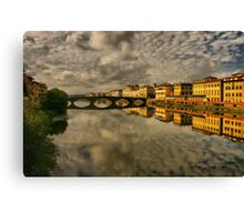 Florence Afloat Canvas Print