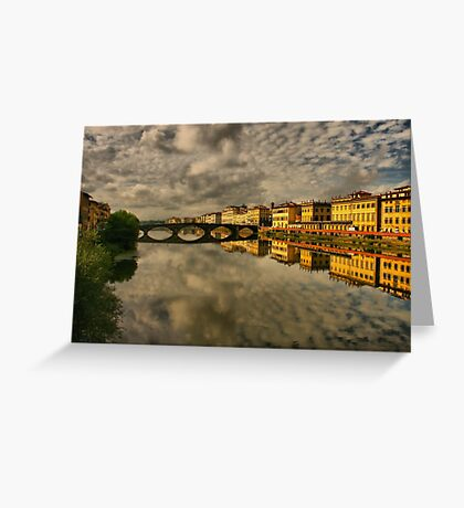 Florence Afloat Greeting Card