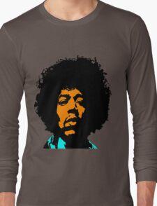 Jimmy Hendrix Long Sleeve T-Shirt