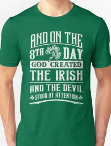 The Irish and The Devil T-Shirt