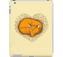 LOVE HEART fox sleeping iPad Case/Skin