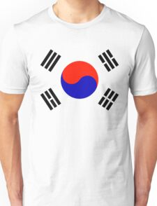 South Korea - Flag Symbol (Korean) Unisex T-Shirt