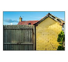The Back Fence Photographic Print