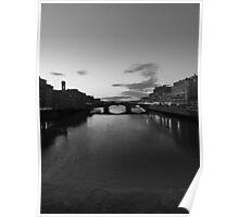 Ponte Vecchio di Notte  Poster